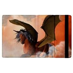 The Dark Unicorn Apple iPad 2 Flip Case
