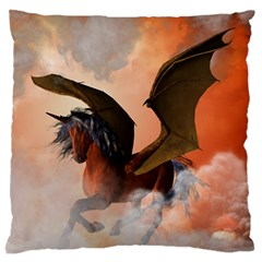 The Dark Unicorn Standard Flano Cushion Cases (two Sides)