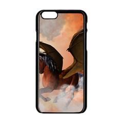 The Dark Unicorn Apple iPhone 6 Black Enamel Case