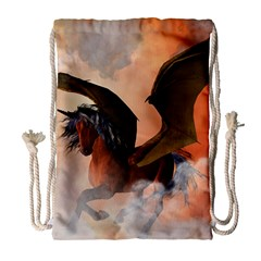 The Dark Unicorn Drawstring Bag (large)
