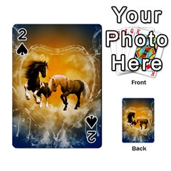 Wonderful Horses Playing Cards 54 Designs