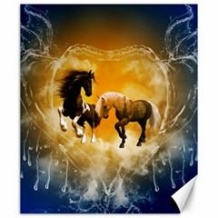 Wonderful Horses Canvas 20  X 24