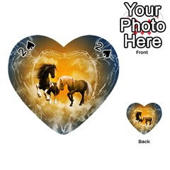 Wonderful Horses Playing Cards 54 (heart)