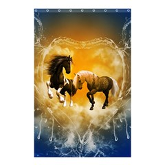 Wonderful Horses Shower Curtain 48  x 72  (Small)