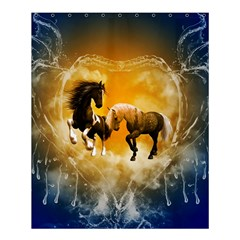 Wonderful Horses Shower Curtain 60  x 72  (Medium)