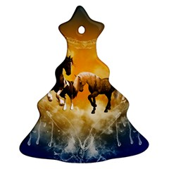Wonderful Horses Christmas Tree Ornament (2 Sides)