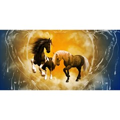 Wonderful Horses YOU ARE INVITED 3D Greeting Card (8x4)