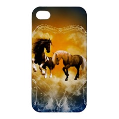 Wonderful Horses Apple iPhone 4/4S Hardshell Case