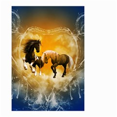 Wonderful Horses Small Garden Flag (two Sides)