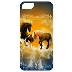 Wonderful Horses Apple iPhone 5 Classic Hardshell Case