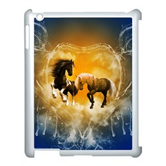 Wonderful Horses Apple iPad 3/4 Case (White)