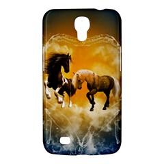 Wonderful Horses Samsung Galaxy Mega 6.3  I9200 Hardshell Case