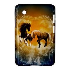 Wonderful Horses Samsung Galaxy Tab 2 (7 ) P3100 Hardshell Case