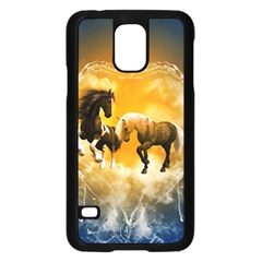 Wonderful Horses Samsung Galaxy S5 Case (Black)