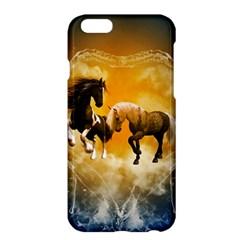 Wonderful Horses Apple iPhone 6/6S Plus Hardshell Case