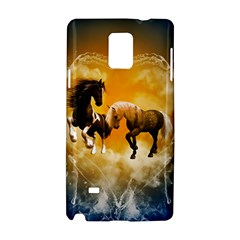 Wonderful Horses Samsung Galaxy Note 4 Hardshell Case