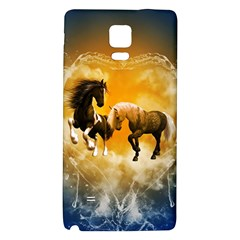 Wonderful Horses Galaxy Note 4 Back Case