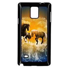 Wonderful Horses Samsung Galaxy Note 4 Case (Black)