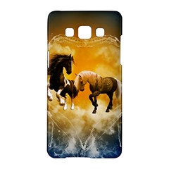 Wonderful Horses Samsung Galaxy A5 Hardshell Case