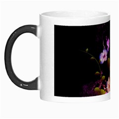 Awesome Flowers With Fire And Flame Morph Mugs