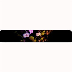 Awesome Flowers With Fire And Flame Small Bar Mats