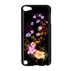 Awesome Flowers With Fire And Flame Apple iPod Touch 5 Case (Black)