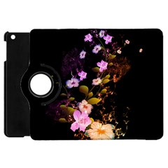 Awesome Flowers With Fire And Flame Apple iPad Mini Flip 360 Case