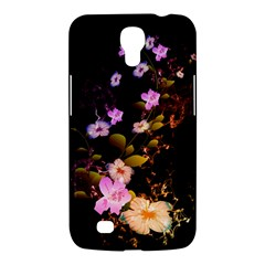 Awesome Flowers With Fire And Flame Samsung Galaxy Mega 6.3  I9200 Hardshell Case