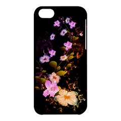 Awesome Flowers With Fire And Flame Apple iPhone 5C Hardshell Case