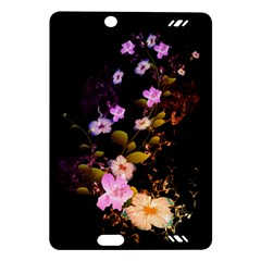 Awesome Flowers With Fire And Flame Kindle Fire HD (2013) Hardshell Case
