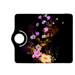Awesome Flowers With Fire And Flame Kindle Fire HDX 8.9  Flip 360 Case