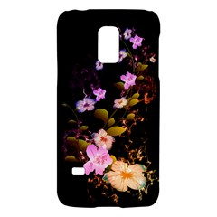 Awesome Flowers With Fire And Flame Galaxy S5 Mini