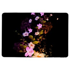 Awesome Flowers With Fire And Flame Ipad Air 2 Flip