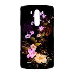 Awesome Flowers With Fire And Flame LG G3 Back Case