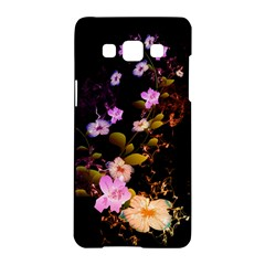 Awesome Flowers With Fire And Flame Samsung Galaxy A5 Hardshell Case