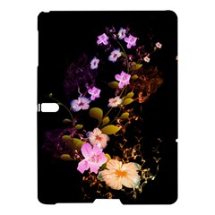 Awesome Flowers With Fire And Flame Samsung Galaxy Tab S (10.5 ) Hardshell Case