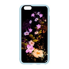 Awesome Flowers With Fire And Flame Apple Seamless iPhone 6 Case (Color)