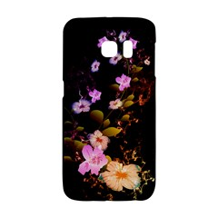 Awesome Flowers With Fire And Flame Galaxy S6 Edge