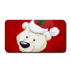 Funny Polar Bear Medium Bar Mats