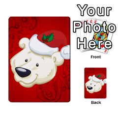 Funny Polar Bear Multi-purpose Cards (Rectangle)