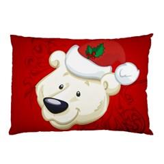 Funny Polar Bear Pillow Cases