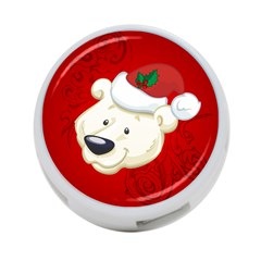 Funny Polar Bear 4-Port USB Hub (One Side)