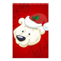 Funny Polar Bear Shower Curtain 48  x 72  (Small)