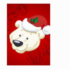Funny Polar Bear Large Garden Flag (Two Sides)