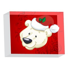 Funny Polar Bear 5 x 7  Acrylic Photo Blocks