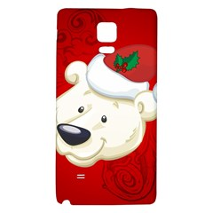 Funny Polar Bear Galaxy Note 4 Back Case