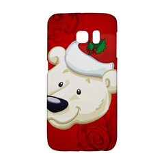 Funny Polar Bear Galaxy S6 Edge