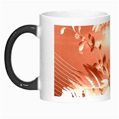 Amazing Flowers With Dragonflies Morph Mugs