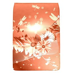 Amazing Flowers With Dragonflies Flap Covers (S)
