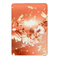 Amazing Flowers With Dragonflies Samsung Galaxy Tab Pro 10.1 Hardshell Case